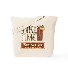 Destin Tiki Time - Tote or Beach Bag