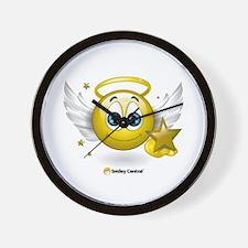 Angel w/Stars Wall Clock