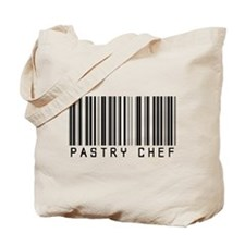 Pastry Chef Barcode Tote Bag