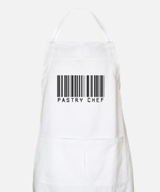 Pastry Chef Barcode BBQ Apron