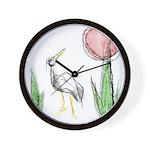 Hanafuda - January -  Wall Clock