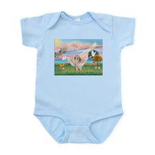 Cloud Angel 2/Cairn Terrier (w) Infant Bodysuit