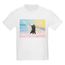Clouds/Cairn Terrier T-Shirt