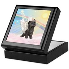 Clouds/Cairn Terrier Keepsake Box