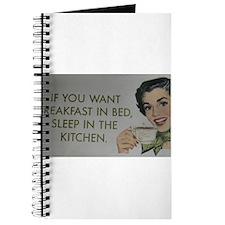 Breakfast in bed Gifts Journal