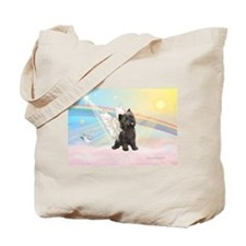 Angel / Cairn Terrier (brin) Tote Bag