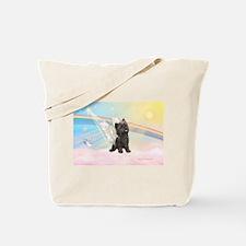 Angel / Cairn Terrier (brin) Tote Bag