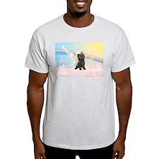 Angel / Cairn Terrier (brin) T-Shirt