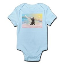 Angel / Cairn Terrier (brin) Infant Bodysuit
