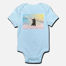 Angel / Cairn Terrier (brin) Infant Bodysuit