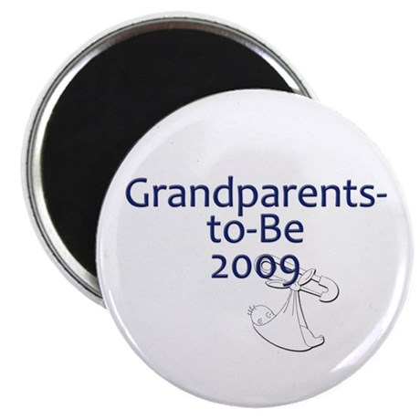 "Grandparents-to-Be 2009 2.25"" Magnet (100 pack)"