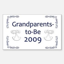 Grandparents-to-Be 2009 Rectangle Decal