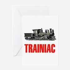 TRAINIAC Greeting Card