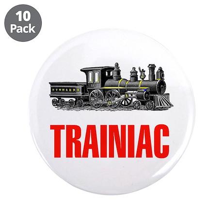"""TRAINIAC 3.5"""" Button (10 pack)"""