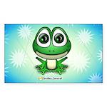 Froggie Rectangle Sticker