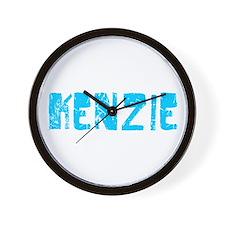 Kenzie Faded (Blue) Wall Clock