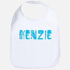 Kenzie Faded (Blue) Bib