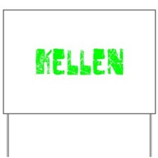 Kellen Faded (Green) Yard Sign