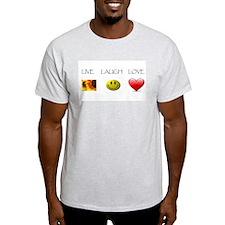 Live Laugh Love Slide T-Shirt