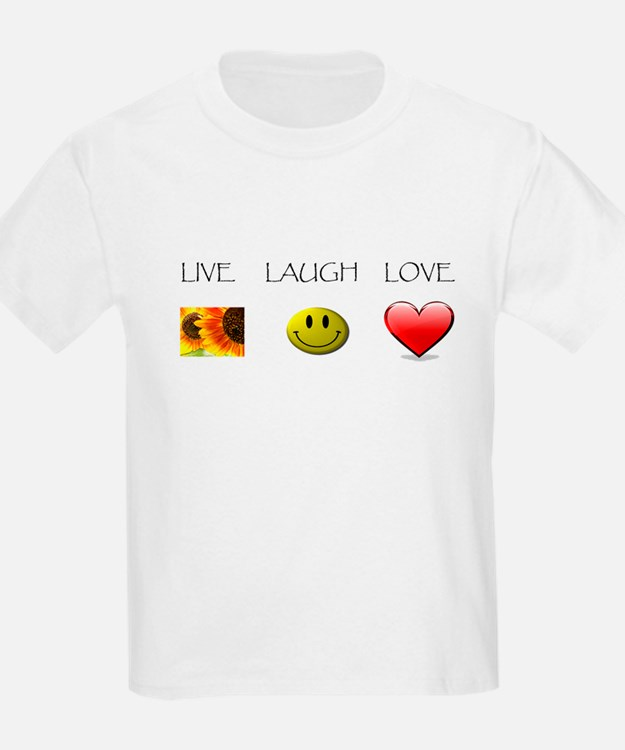 Live Laugh Love Slide T-Shirt