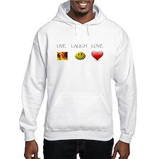 Live Laugh Love Slide Hoodie