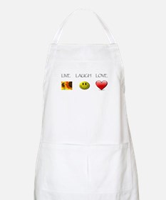 Live Laugh Love Slide BBQ Apron