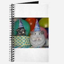Cute Chinchilla Journal