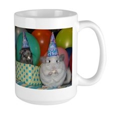 chinchilla party Mugs