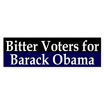 Bitter Voters for Obama bumper sticker