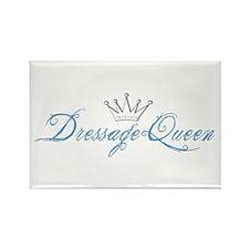 Dressage Queen Rectangle Magnet (100 pack)