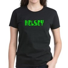Kelsey Faded (Green) Tee