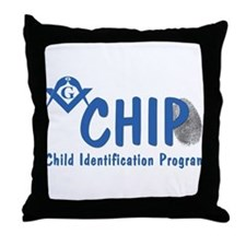 Masonic CHIP Throw Pillow