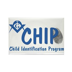 Masonic CHIP Rectangle Magnet (100 pack)