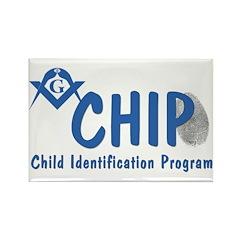 Masonic CHIP Rectangle Magnet (10 pack)