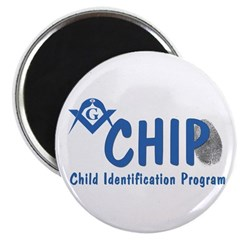 Masonic CHIP Magnet
