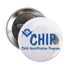 """Masonic CHIP 2.25"""" Button"""