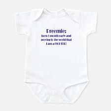 Premie Babies Infant Bodysuit