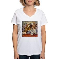 Cute Smiling greyhound Shirt