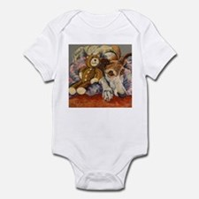 Funny Brown bear Infant Bodysuit