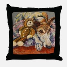 Unique Greyhound Throw Pillow