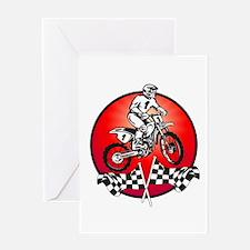 Motocross 3 Greeting Card
