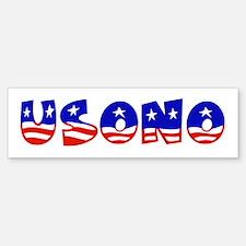 USA Bumper Bumper Bumper Sticker