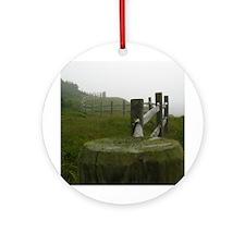 Nova Scotian Peace Ornament (Round)