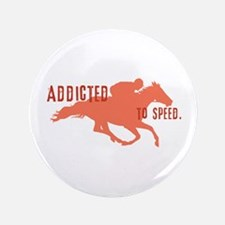 "Race Horse 3.5"" Button"