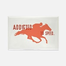 Race Horse Rectangle Magnet