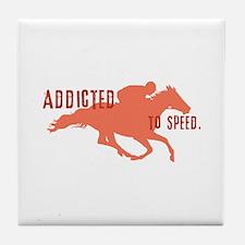 Race Horse Tile Coaster