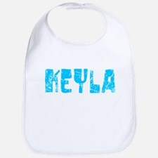 Keyla Faded (Blue) Bib