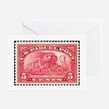 Unique Stamp Greeting Card