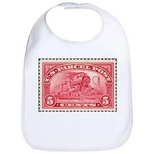Cute Stamp collecting Bib