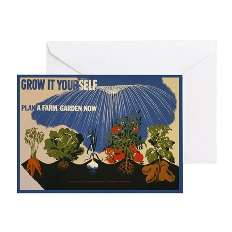 Sustainability Gardening Greeting Card